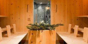 Sauna Caravan Park Sexten