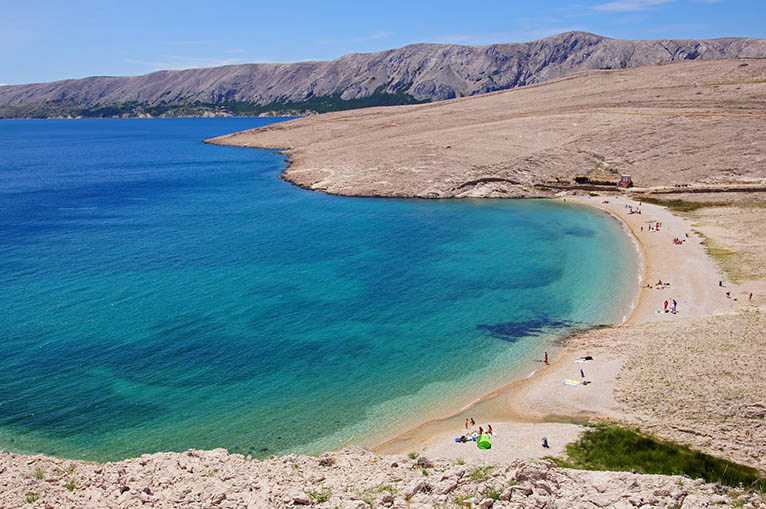 pag isola delle spiagge