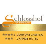 Schlosshof Camping Resort logo