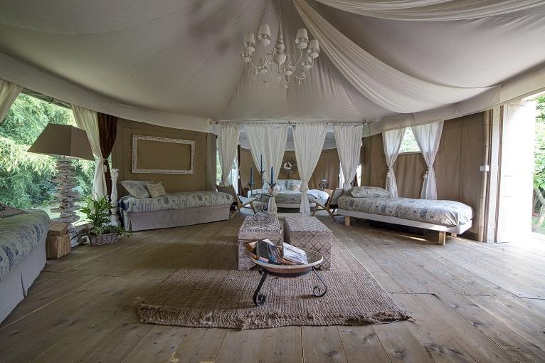 Tenda Glamping Canonici