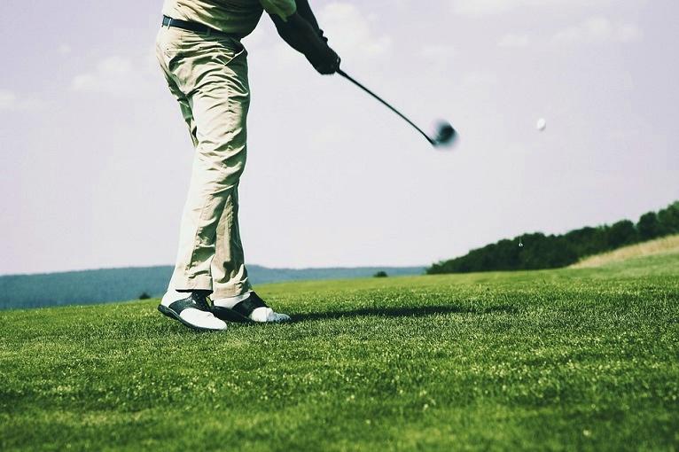 golf golden camping