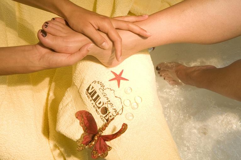 massaggi al centro benessere