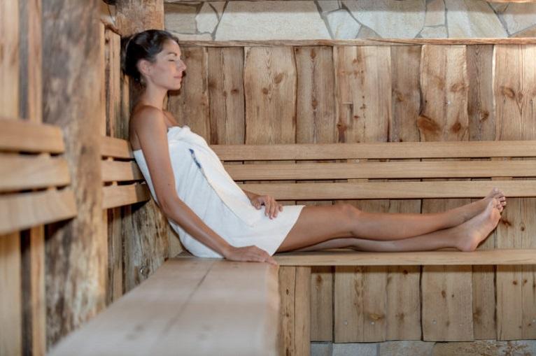 Aqua Dome sauna