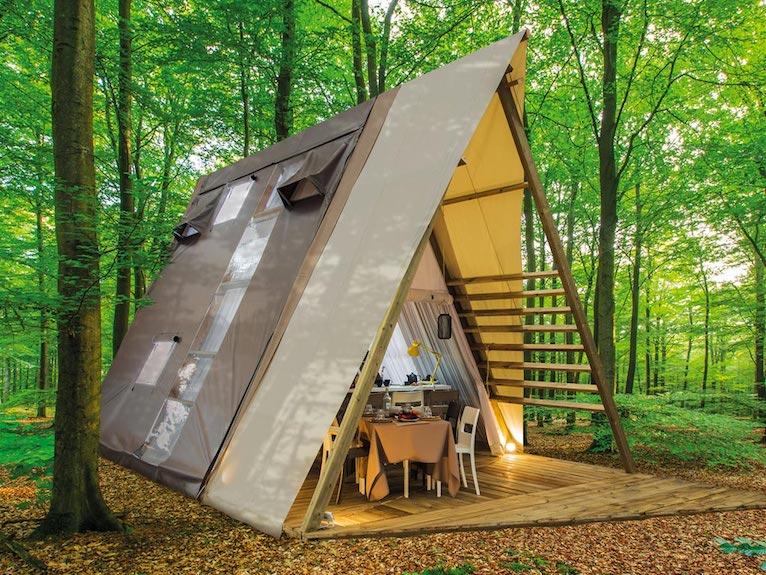 free beach camping