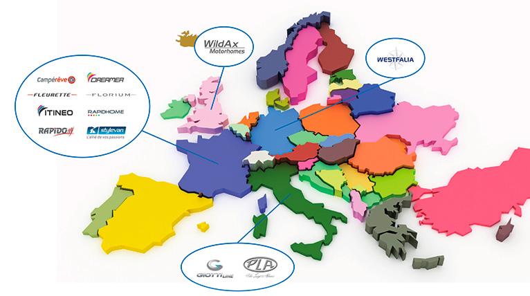 Mappa aziende Rapido