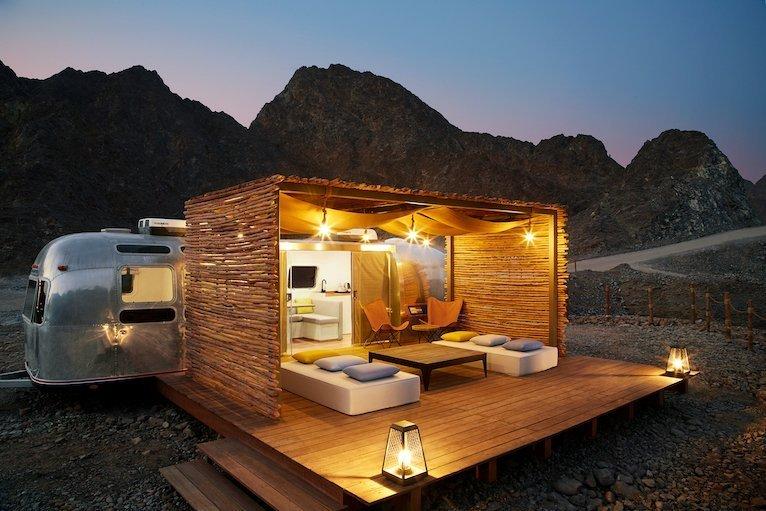 Glamping in Dubai_Hatta Sedr Trailers
